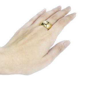Anel Vancox em Ouro Amarelo com Brilhantes