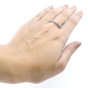 Meia Aliança de Diamantes em Ouro Branco 16K