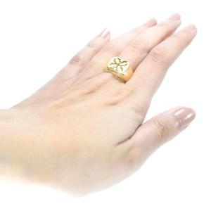 Anel H. Stern em Ouro Amarelo